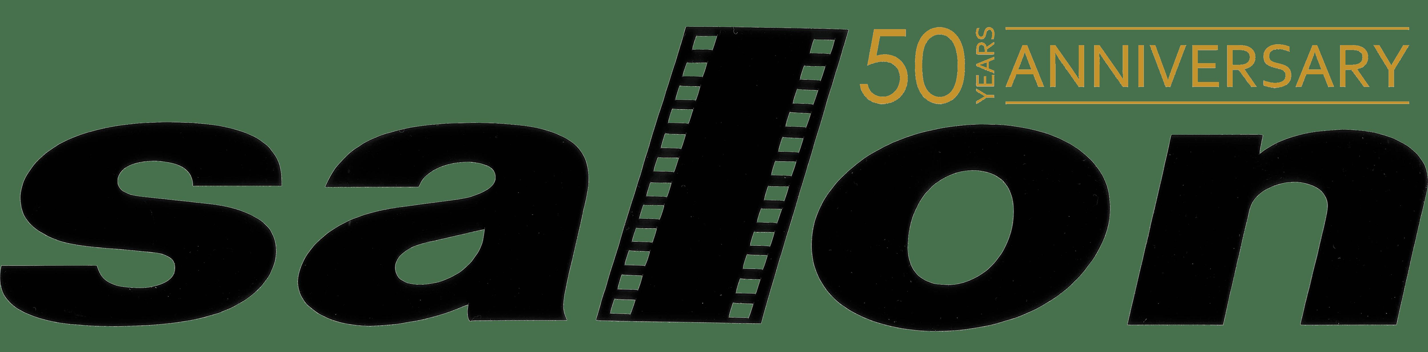 Salon logo 50th